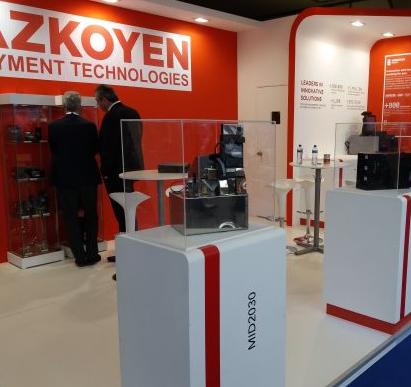 La división de medios de pago de Grupo Azkoyen presenta nuevos productos en la feria internacional Intertraffic Amsterdam